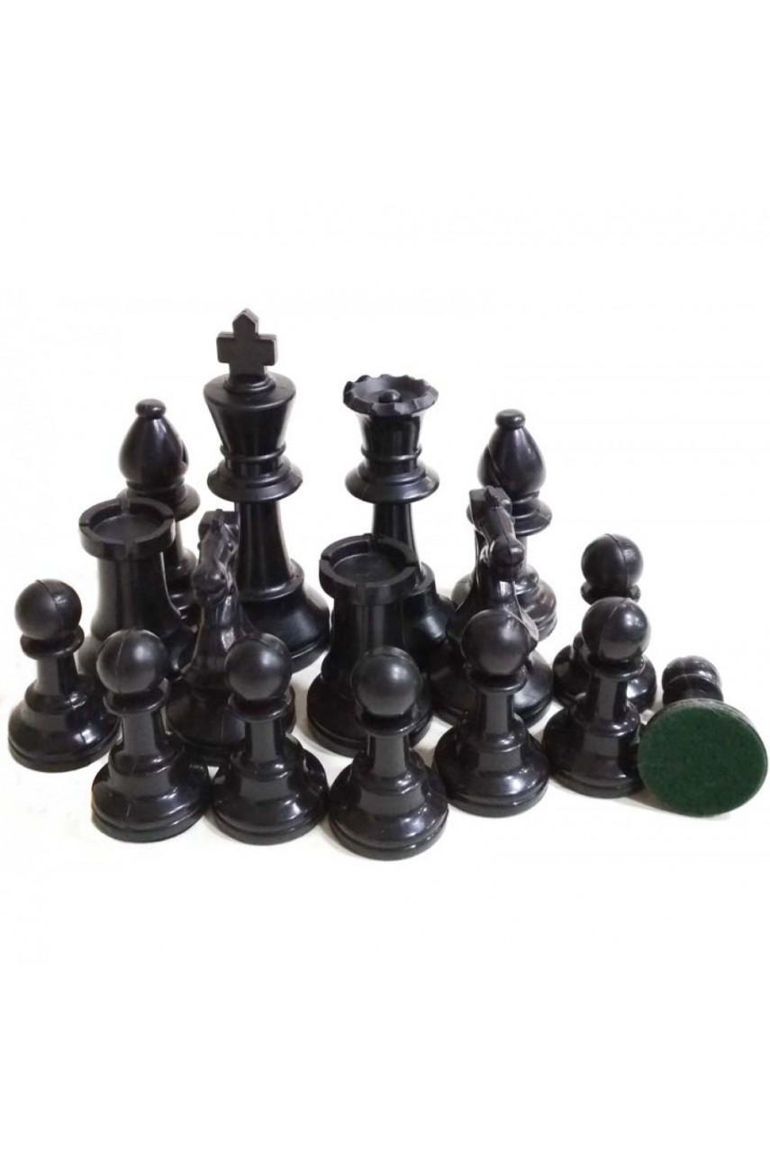 Фигуры шахматные пластмассовые