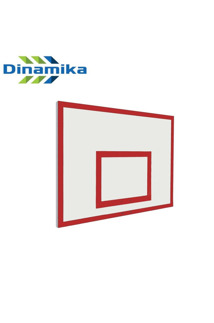 Щит баскетбольный тренировочный 1200х900 фанера без рамы (разметка красная или черная)