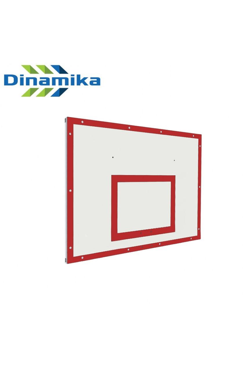 Щит баскетбольный тренировочный 1200х900 фанера на раме (разметка черная или красная)