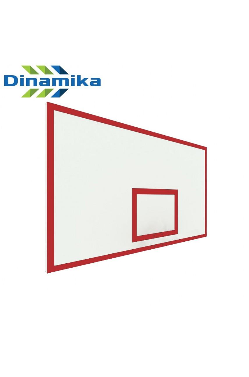 Щит баскетбольный игровой 1800х1050 фанера без рамы (разметка красная или черная)