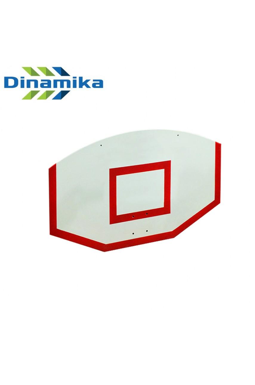 Щит стритбольный 1200х750 фанера (разметка красная или черная)