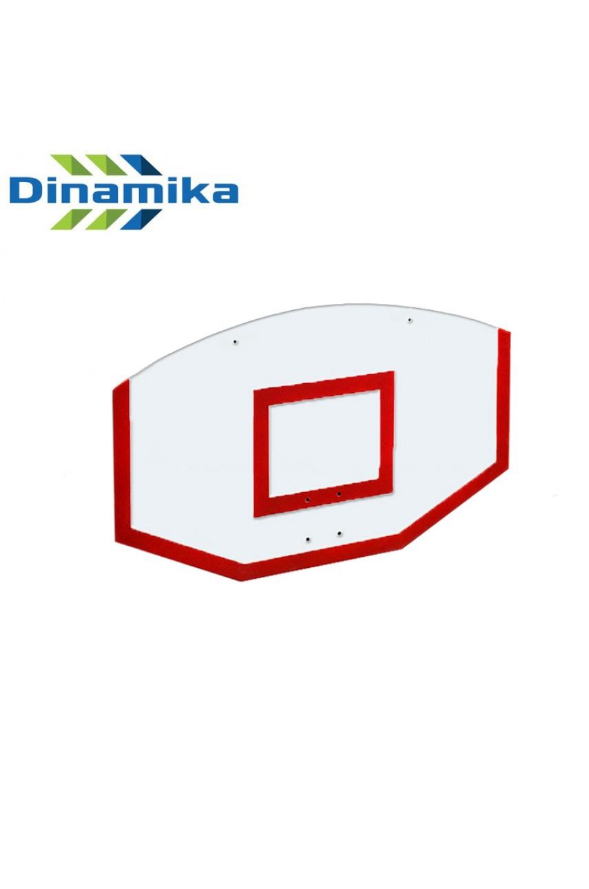 Щит стритбольный 1200х750 оргстекло (разметка красная или белая)