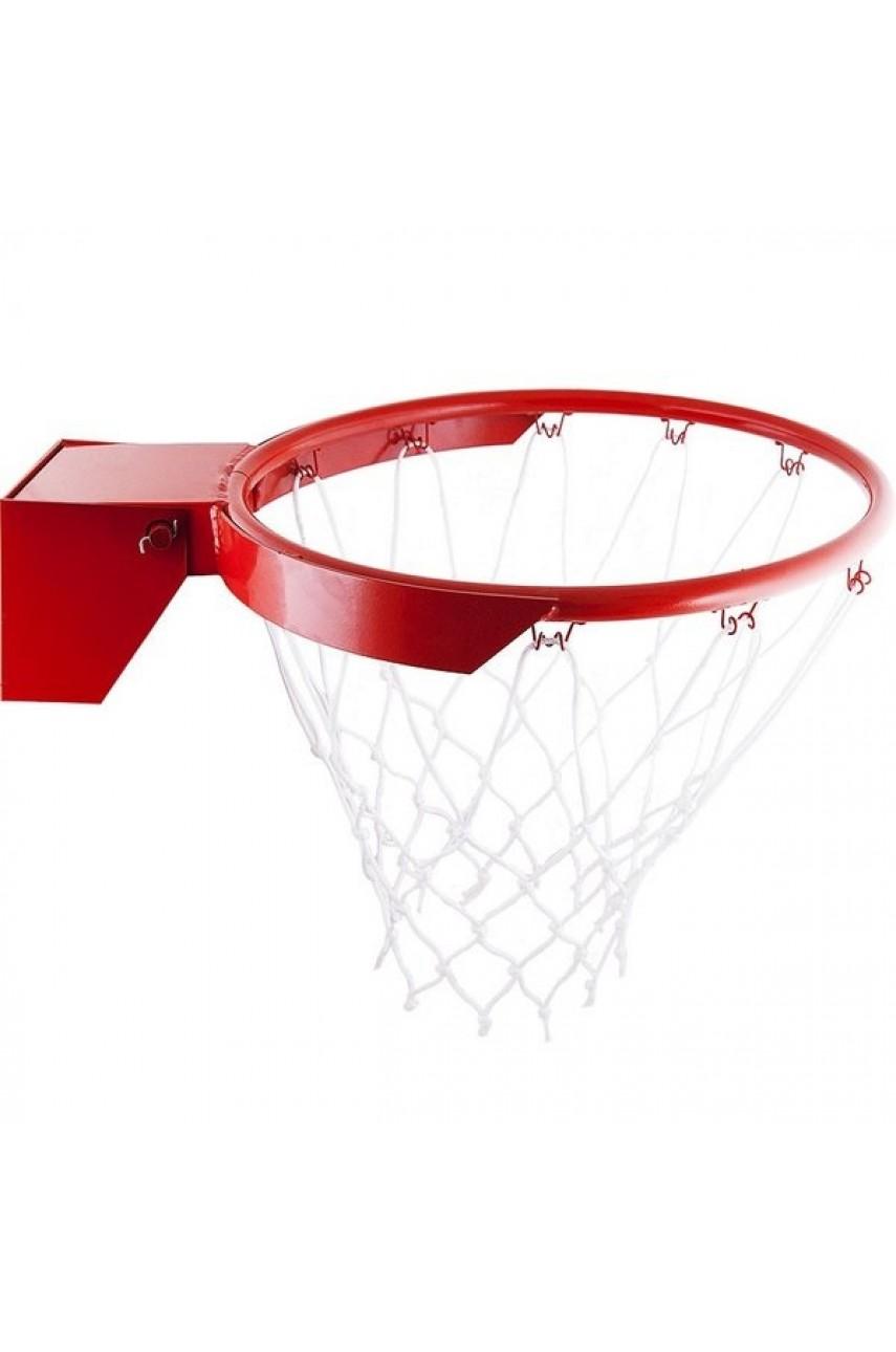 Кольцо баскетбольное №7 амортизационное с сеткой