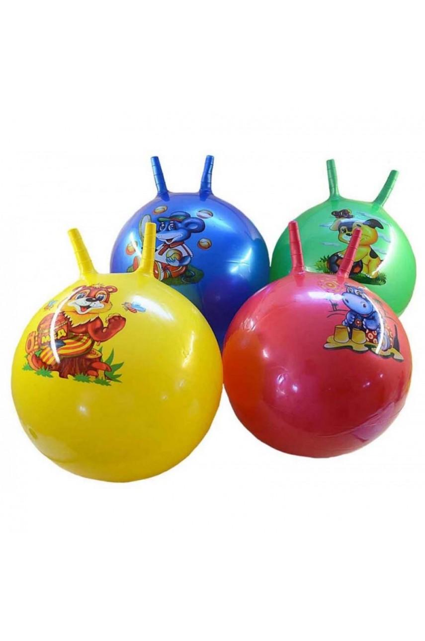 Мяч гимнастический с рожками 50 см