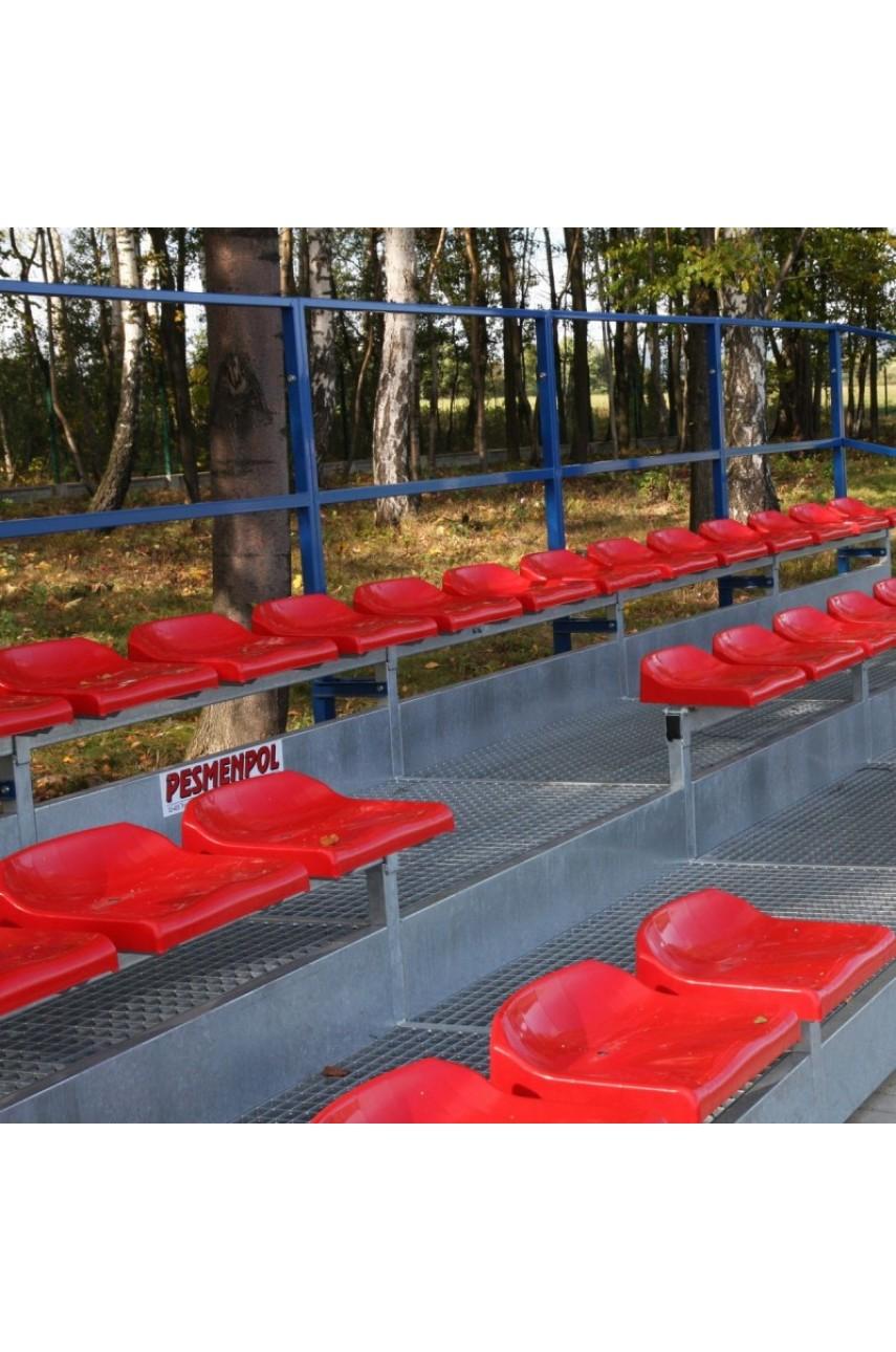 Стационарные трибуны для уличных спортивных площадок