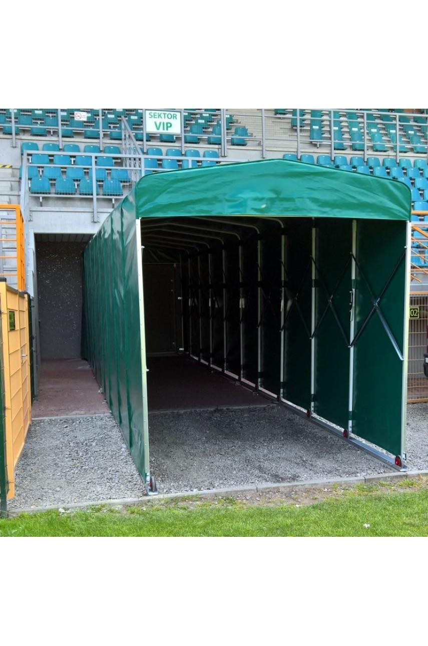 Телескопический тоннель для футбольного стадиона