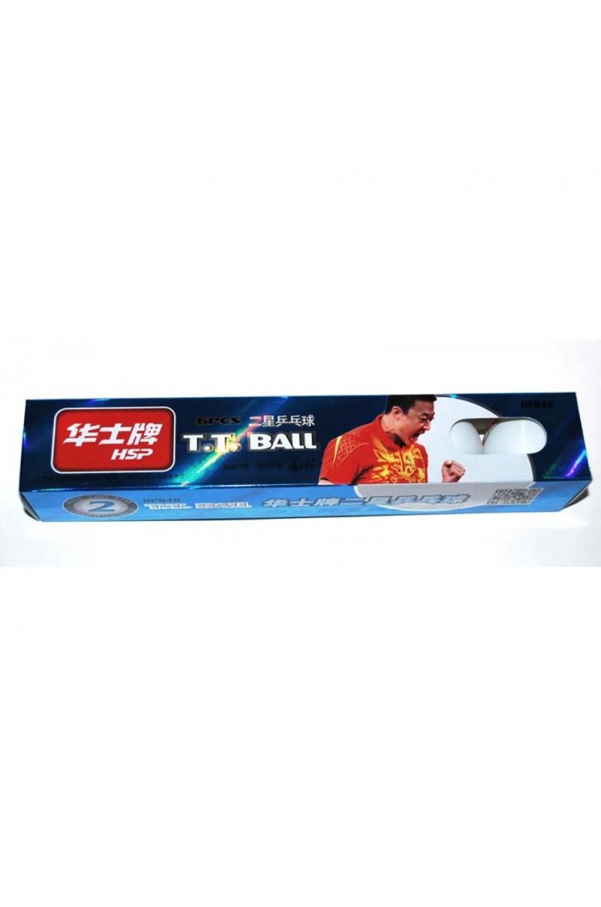 Шарик для настольного тенниса (6 шт. в упак.)